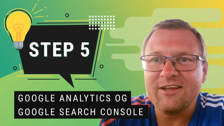 SEO Arbejde Google Analytics og Google Search Console
